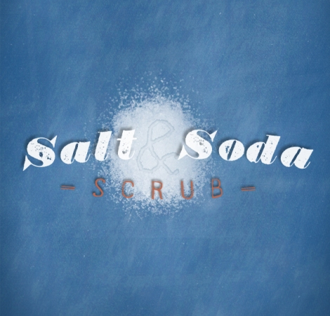 All-natural Salt & Soda scrub recipe
