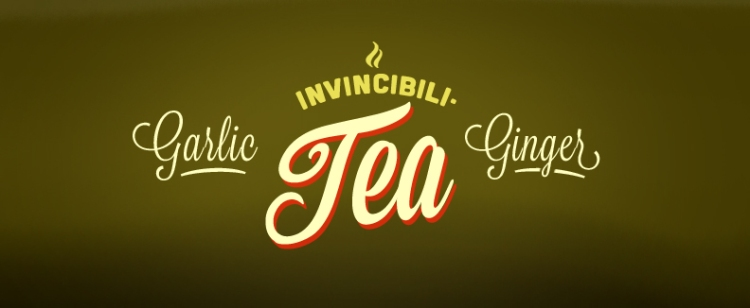 Garlic Ginger Invincibili-Tea