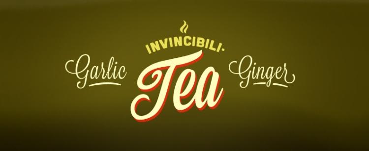 Garlic Ginger Invincibili-Tea