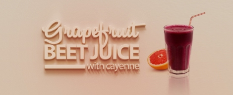 Grapefruit Beet Juice w/ Cayenne — thecrunchyurbanite.com