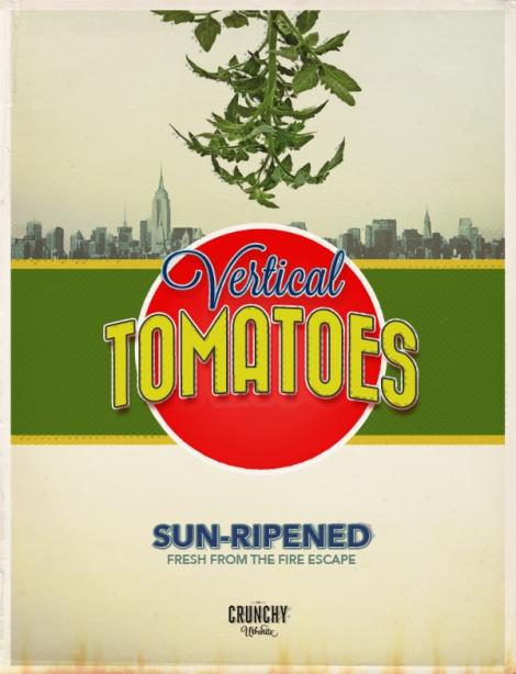 Urban Farming: Vertical Tomatoes | thecrunchyurbanite.com