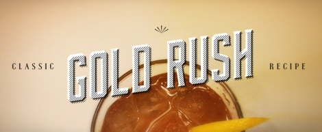 Classic Gold Rush Recipe | thecrunchyurbanite.com