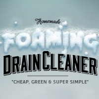 Homemade Foaming Drain Cleaner