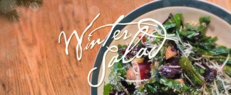 Winter Salad - eating seasonally around the Holidays   thecrunchyurbanite.com
