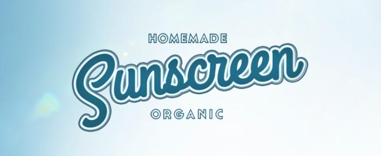 Homemade Organic Sunscreen — thecrunchyurbanite.com