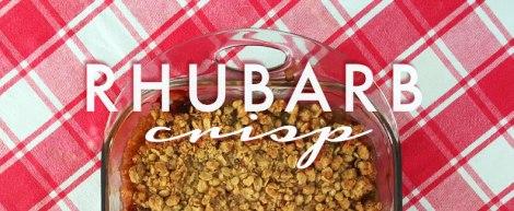 Rhubarb Crisp   thecrunchyurbanite.com